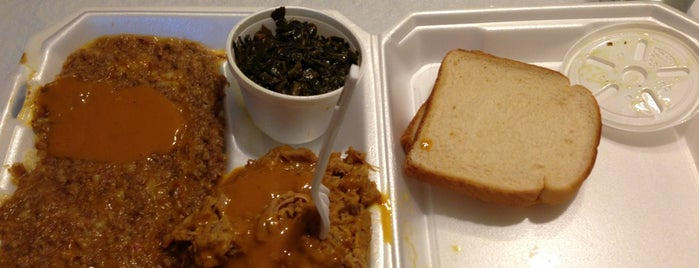 Big T's Bar-B-Que is one of South Carolina Barbecue Trail - Part 1.