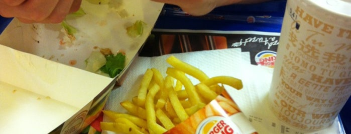 Burger King is one of Burger King's @ Budapest.