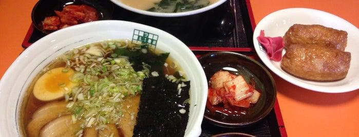 라멘81번옥 is one of Itaewon food.