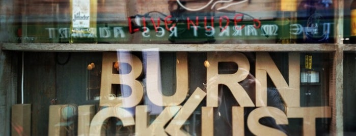 Luck Lust Liquor & Burn is one of Foodies in Manchester.