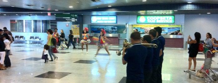 Aeroporto Internacional do Recife / Guararapes (REC) is one of Pablo's tips.