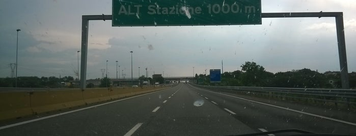 """A4 - Barriera """"Rondissone"""" is one of A4 Autostrada Torino - Trieste."""
