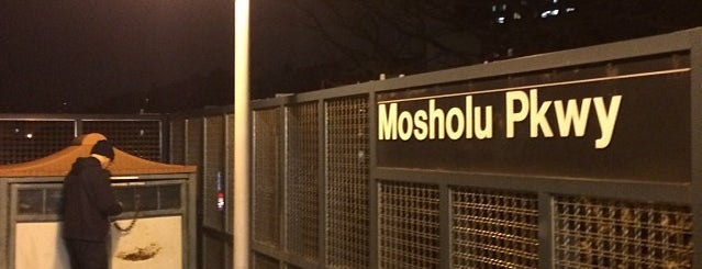 MTA Subway - Mosholu Parkway (4) is one of NYC Subways 4/5/6.