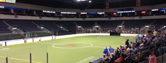 Silverstein Eye Centers Arena is one of KC Stadiums and Sports Fields.