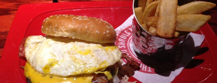 Red Robin Gourmet Burgers is one of Top picks for Burger Joints.
