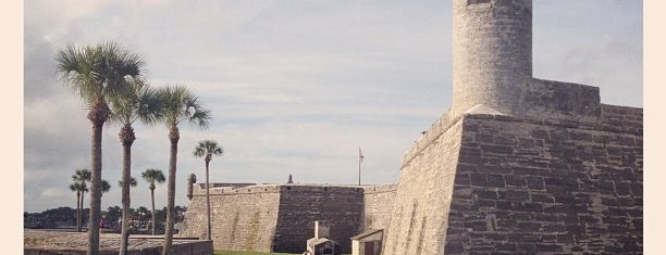 Castillo De San Marcos National Monument is one of National Parks.
