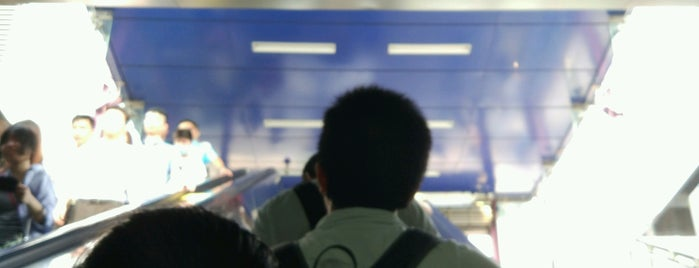 Keyunlu Metro Station is one of 廣州 Guangzhou - Metro Stations.