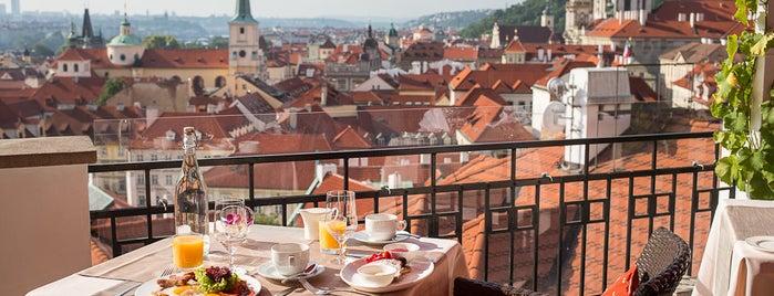 Terasa U Zlaté studně is one of Prague.