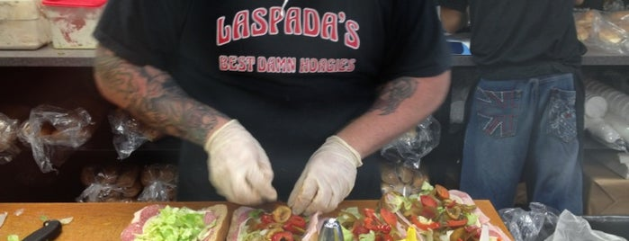 Laspada's Original Hoagies is one of Peewee's Big Ass South Florida Food Adventure!.