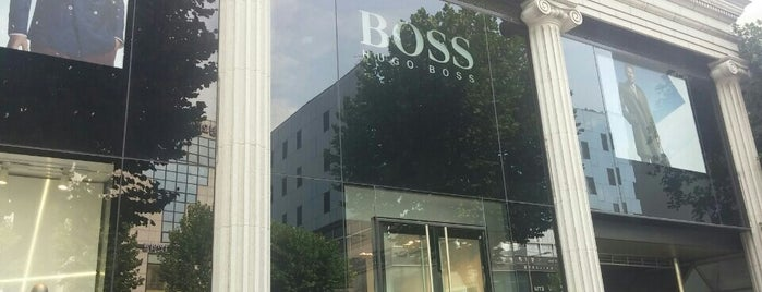 Hugo Boss is one of ?8.