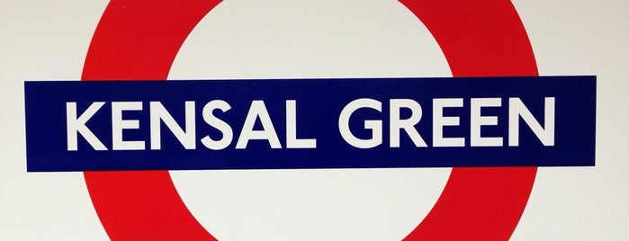 Kensal Green London Underground and London Overground Station is one of Tube Challenge.
