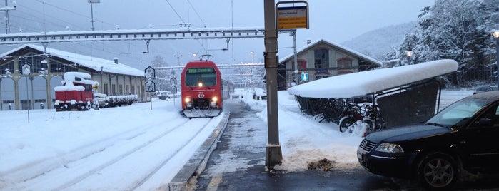 Bahnhof Glarus is one of Bahnhöfe Top 200 Schweiz.