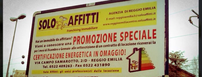 Solo Affitti Reggio Emilia is one of Work, Foodie & similar.