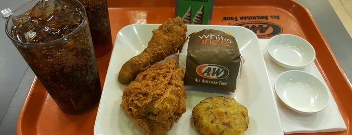 A&W is one of Food Spots @Bandung.