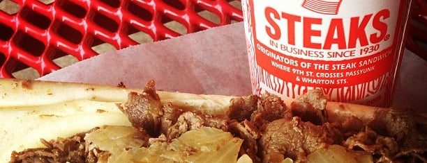 Pat's King of Steaks is one of Penn List.