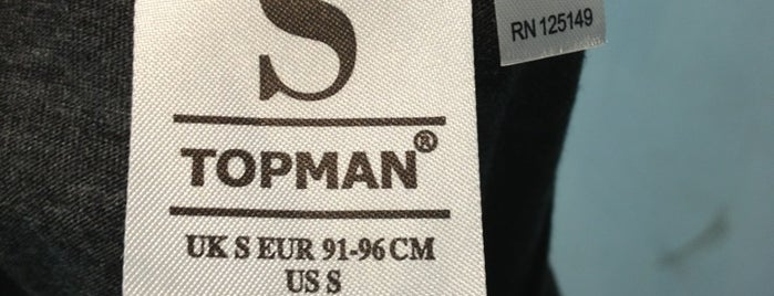 Topman is one of Mall.