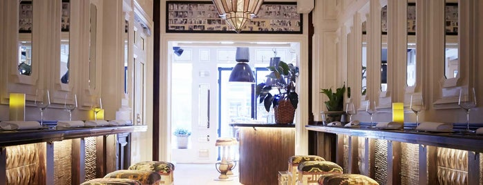 Nosh and Chow is one of Stockholm - to see.
