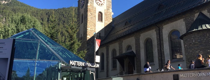 Matterhorn Museum is one of Attractions to Visit.