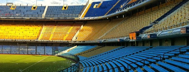 Estadio Alberto J. Armando - La Bombonera (Boca Juniors) is one of Buenos Aires.