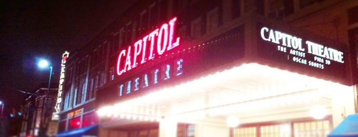 Capitol Theatre is one of Gordon Square Arts District.