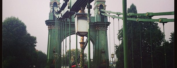 Hammersmith Bridge is one of Favorite Great Outdoors.