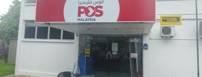 Pejabat Pos Kuala Berang is one of @Hulu Terengganu.