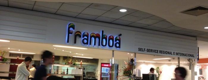 Framboá is one of Restaurantes e Lanchonetes (Food) em João Pessoa.
