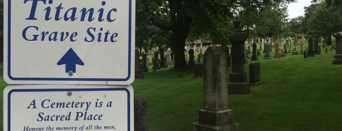 Titanic Graves (Fairview Lawn) is one of Interesting Places.