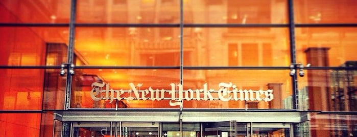 New York Times - Newsroom is one of Design & Internet NYC.