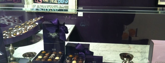 Vosges Haut Chocolat is one of blakeGRANT'S NYC punchlist.