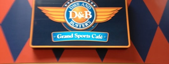 Dave & Buster's is one of Sassy's Favorites.