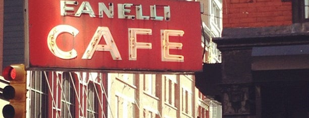 Fanelli Cafe is one of NYC Restaurants: To Go Pt. 2.