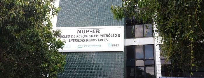 NUP-ER - Núcleo de Estudos em Petróleo e Energias Renováveis is one of UFRN.