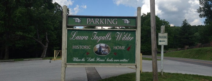 Laura Ingalls Wilder Home and Museum is one of All-Time Favourite Places.