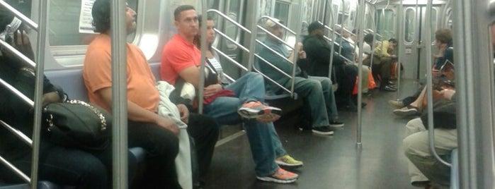 MTA Subway - C Train is one of NY - MTA Subway Trains.