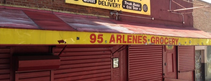 Arlene's Grocery is one of Bars.