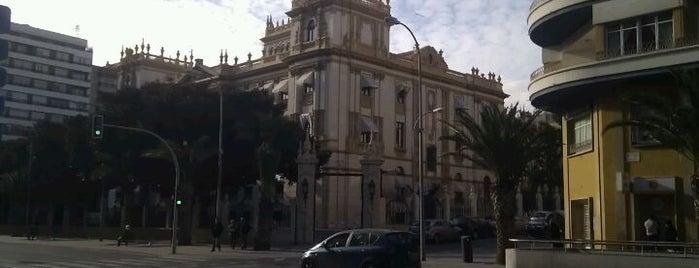 Diputación Provincial de Alicante is one of Alicante urban treasures.