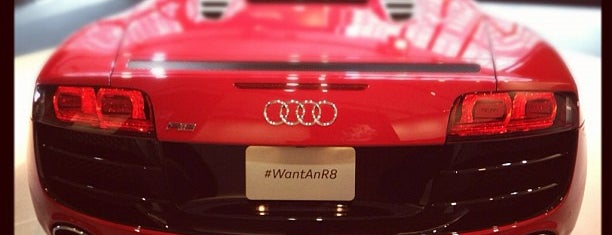 Audi Forum is one of Badge list.