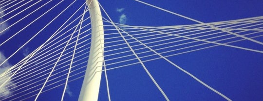 Margaret Hunt Hill Bridge is one of Dallas Bucket List.