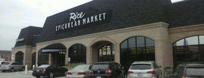 Rice Epicurean Market is one of Stores that carry our chocolate sauces!.