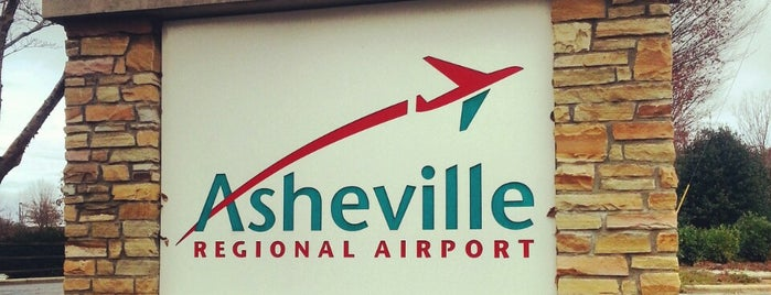 Asheville Regional Airport (AVL) is one of Airports been to.