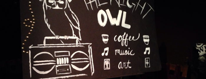 The Night Owl is one of OC Drinks and Desserts.