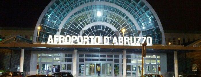 Aeroporto Internazionale d'Abruzzo Pasquale Liberi (PSR) is one of My Airports.