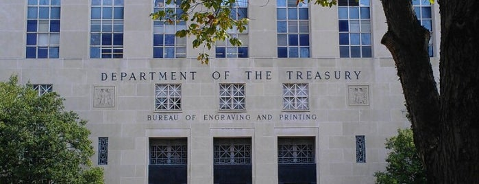 Bureau of Engraving and Printing is one of Moderator Central.