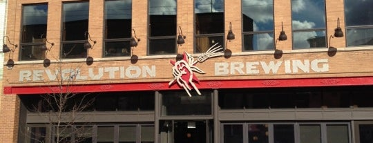 Revolution Brewing is one of Traveling Chicago.