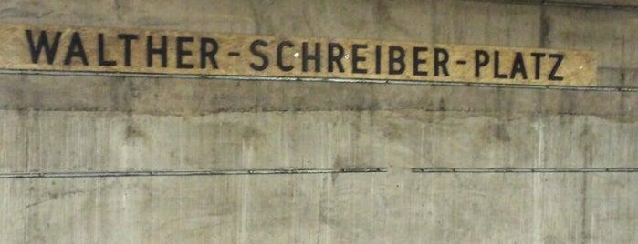 U Walther-Schreiber-Platz is one of U-Bahn Berlin.