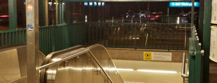U Kleistpark is one of U-Bahn Berlin.