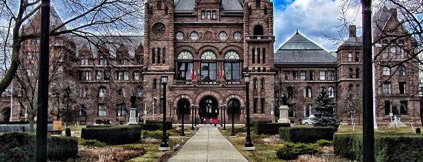 Legislative Assembly of Ontario is one of Canada Favorites.