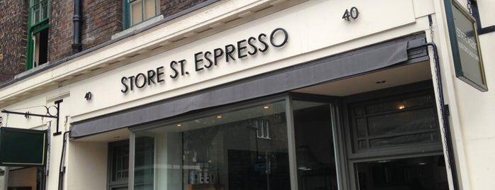 Store Street Espresso is one of 100+ Independent London Coffee Shops.