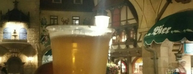 Bier Cart is one of Epcot World Showcase.